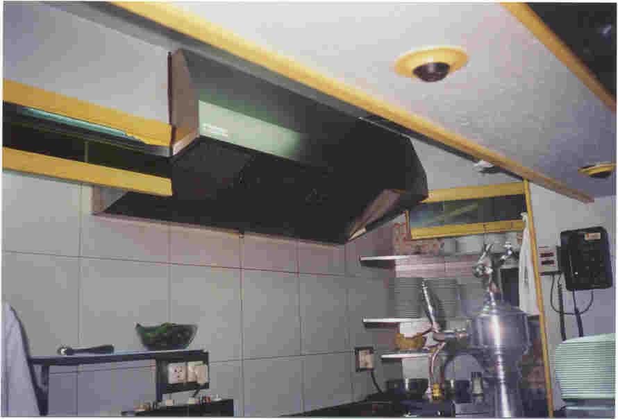Climatizacion - Campana extractora cocina industrial ...