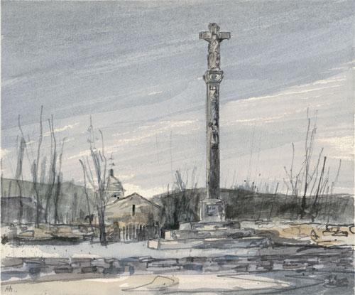Crucero de O Cebreiro, Camino de Santaigo Frances