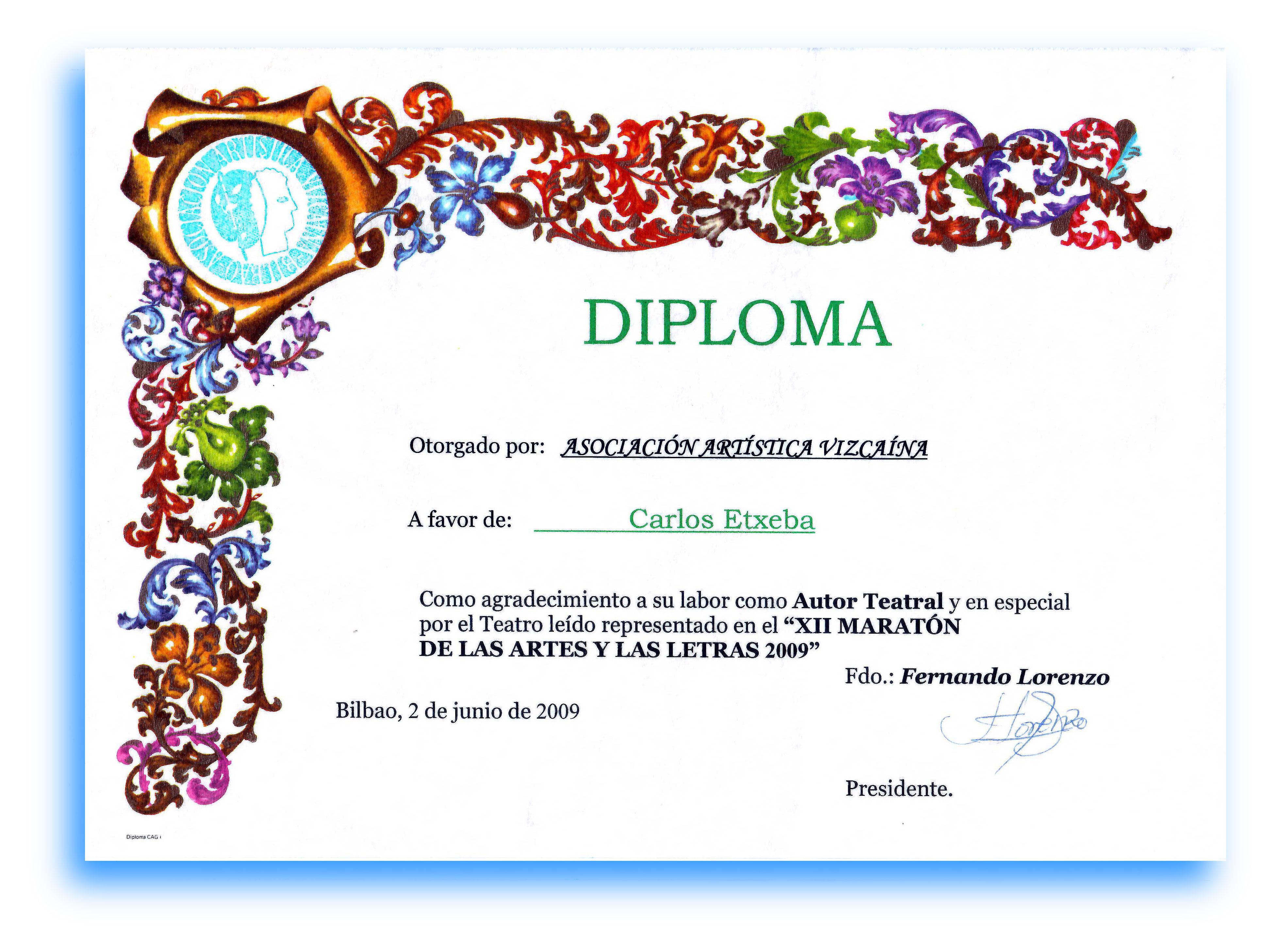 Diplomas De Agradecimiento - newhairstylesformen2014.com