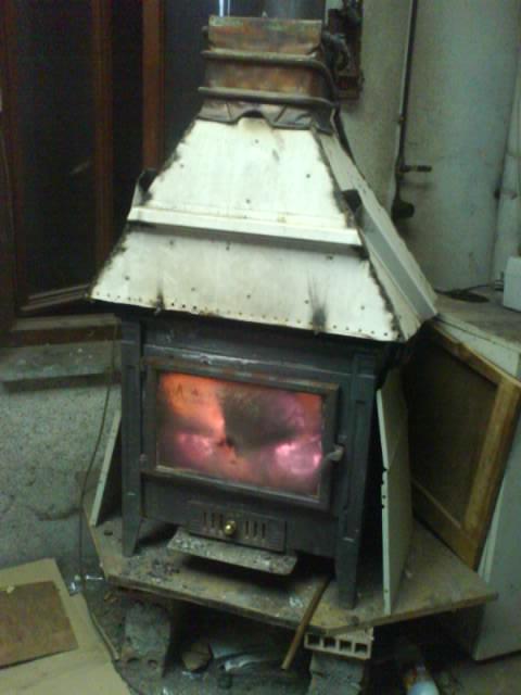 C mo calentar la casa con una estufa de le a y una vieja - Calentar la casa ...