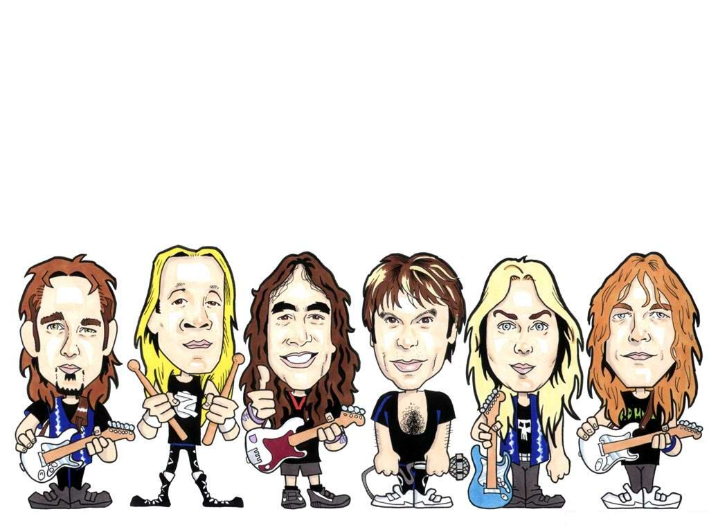 Historia de Iron Maiden y Wallpapers