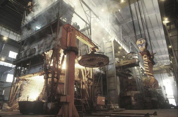 Historia vascos Fundición de hierro